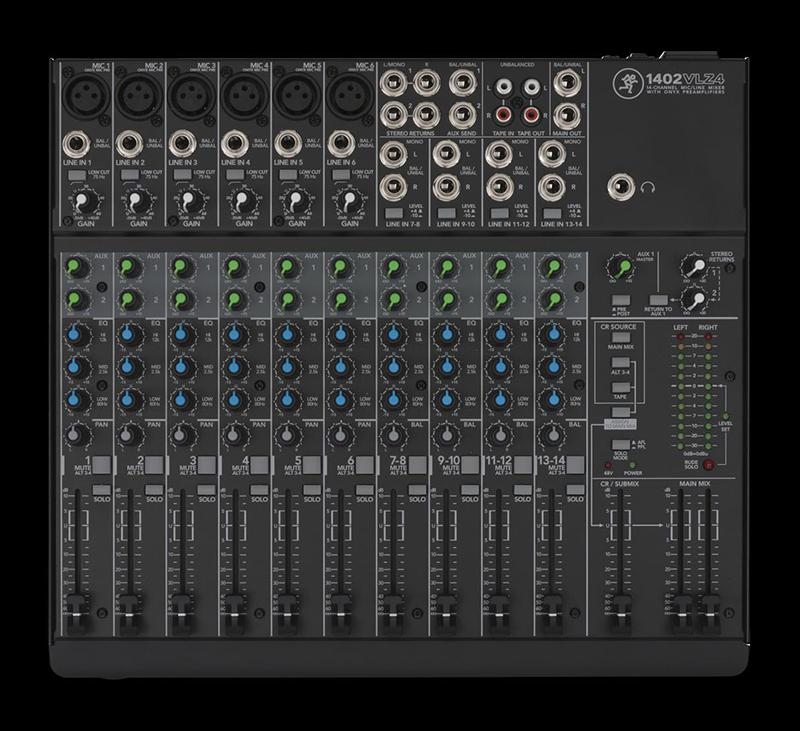 Image of   Mackie 1402VLZ4 mixer