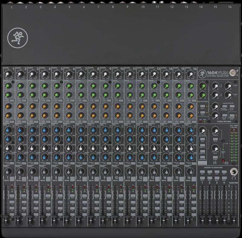 Billede af Mackie 1604VLZ4 mixer