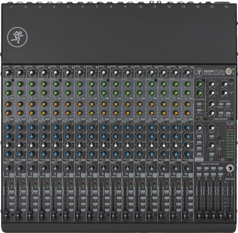 Image of   Mackie 1604VLZ4 mixer