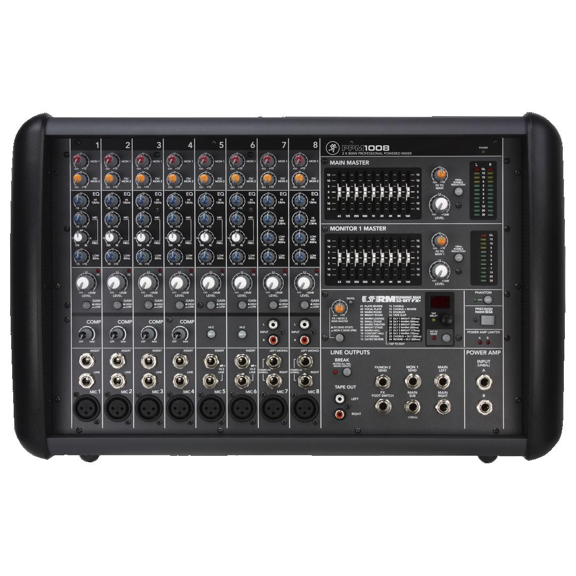 Mackie PPM1008 powermixer