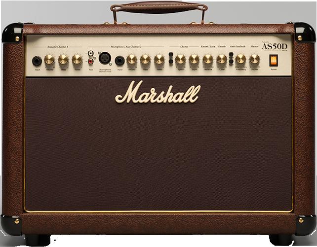 Billede af Marshall AS50D akustiskguitar-forstærker