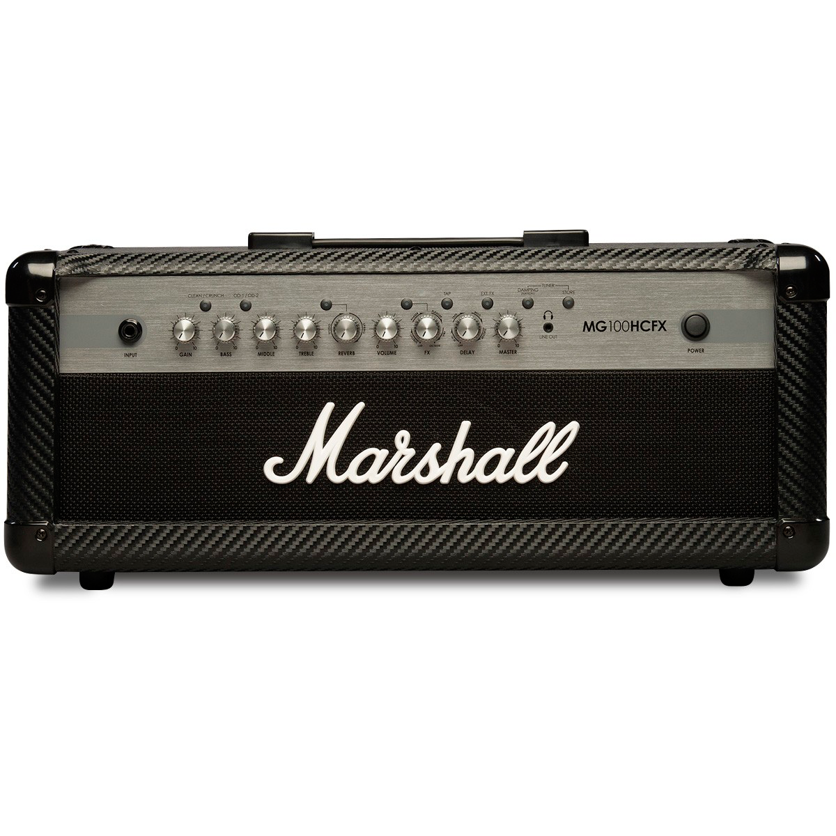 Marshall MG100HCFX guitarforstærker-top