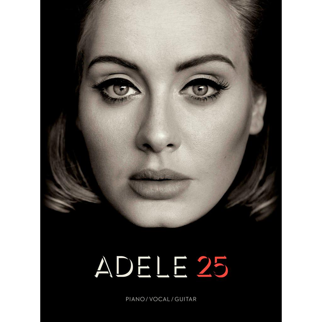 Billede af Adele 25 nodebog