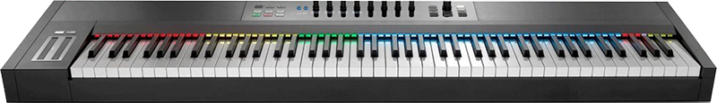 Billede af NativeInstruments KompleteKontrolS88 keyboard