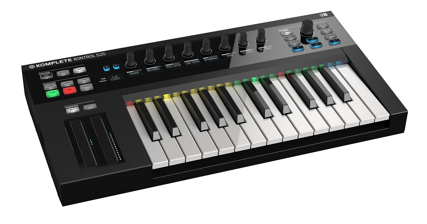 Image of   NativeInstruments KompleteKontrolS25 keyboard