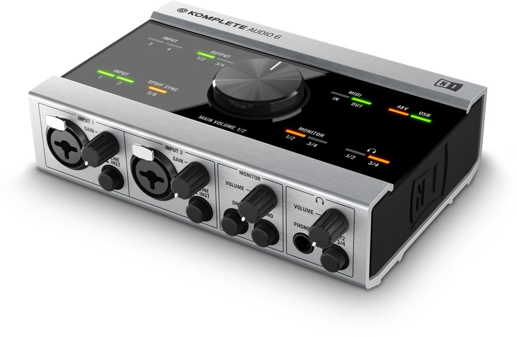Billede af NativeInstruments kompleteAudio6 lydkort