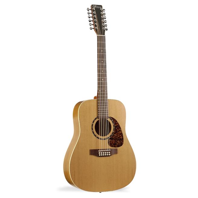 12-strenget western-guitar