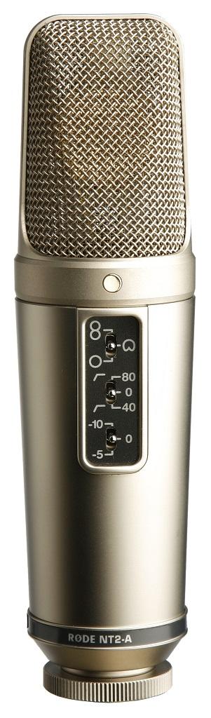 Billede af Røde NT2A-BOX mikrofonsætm/popfilter,ophængogkabel