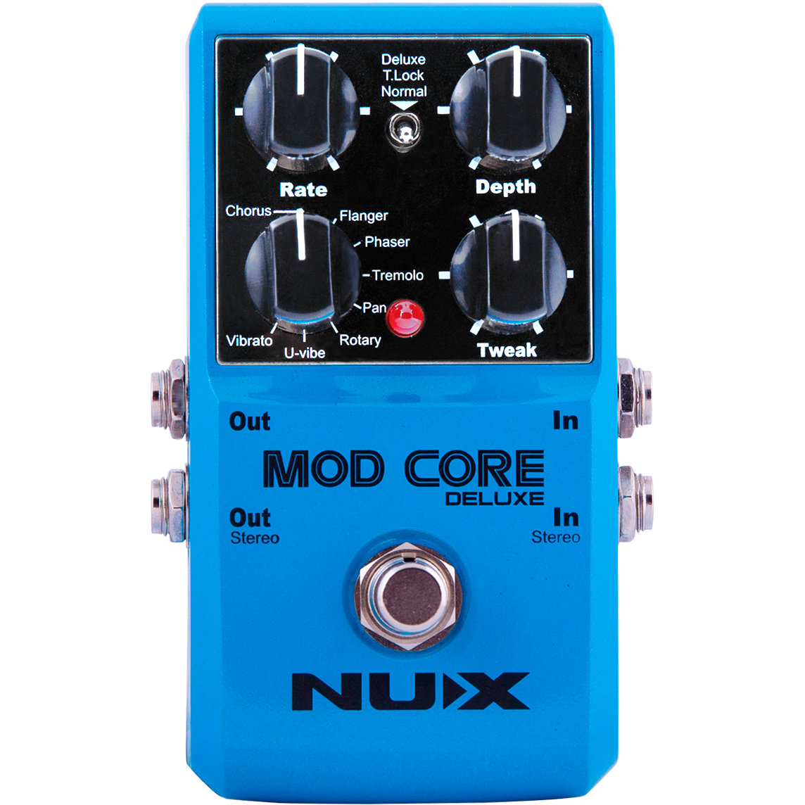 Billede af Nux Mod CoreDeluxe multieffekt guitar-pedal