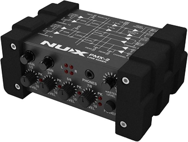 Image of   Nux PMX-2 line-mixer