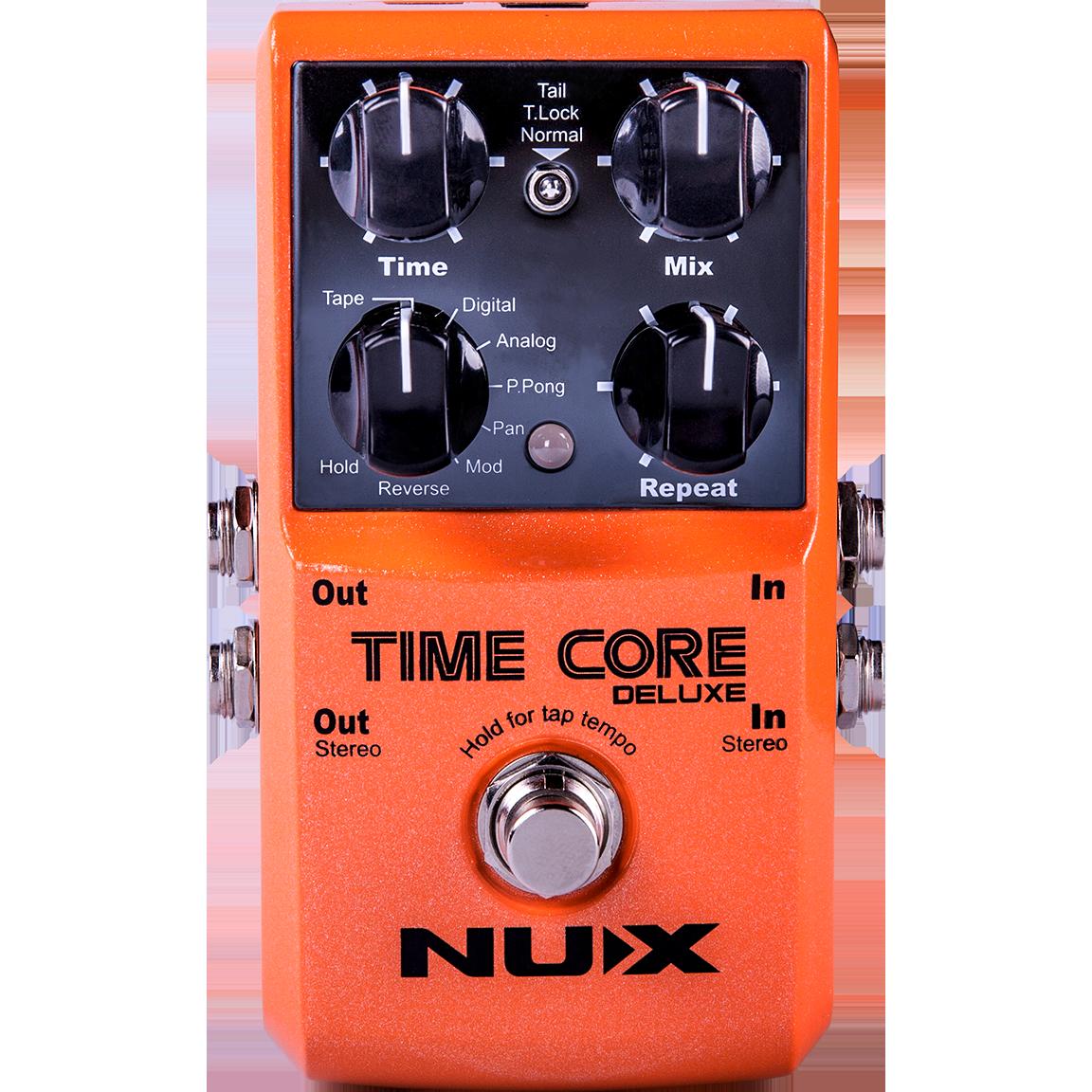 Billede af Nux Time CoreDeluxemulti-delay guitar-pedal