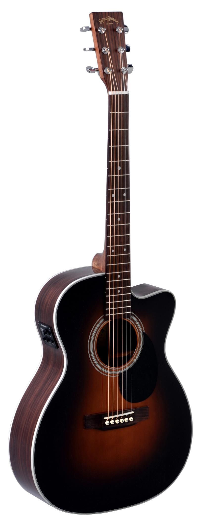 Billede af Sigma OMRC-1STE-SB western-guitar sunburst