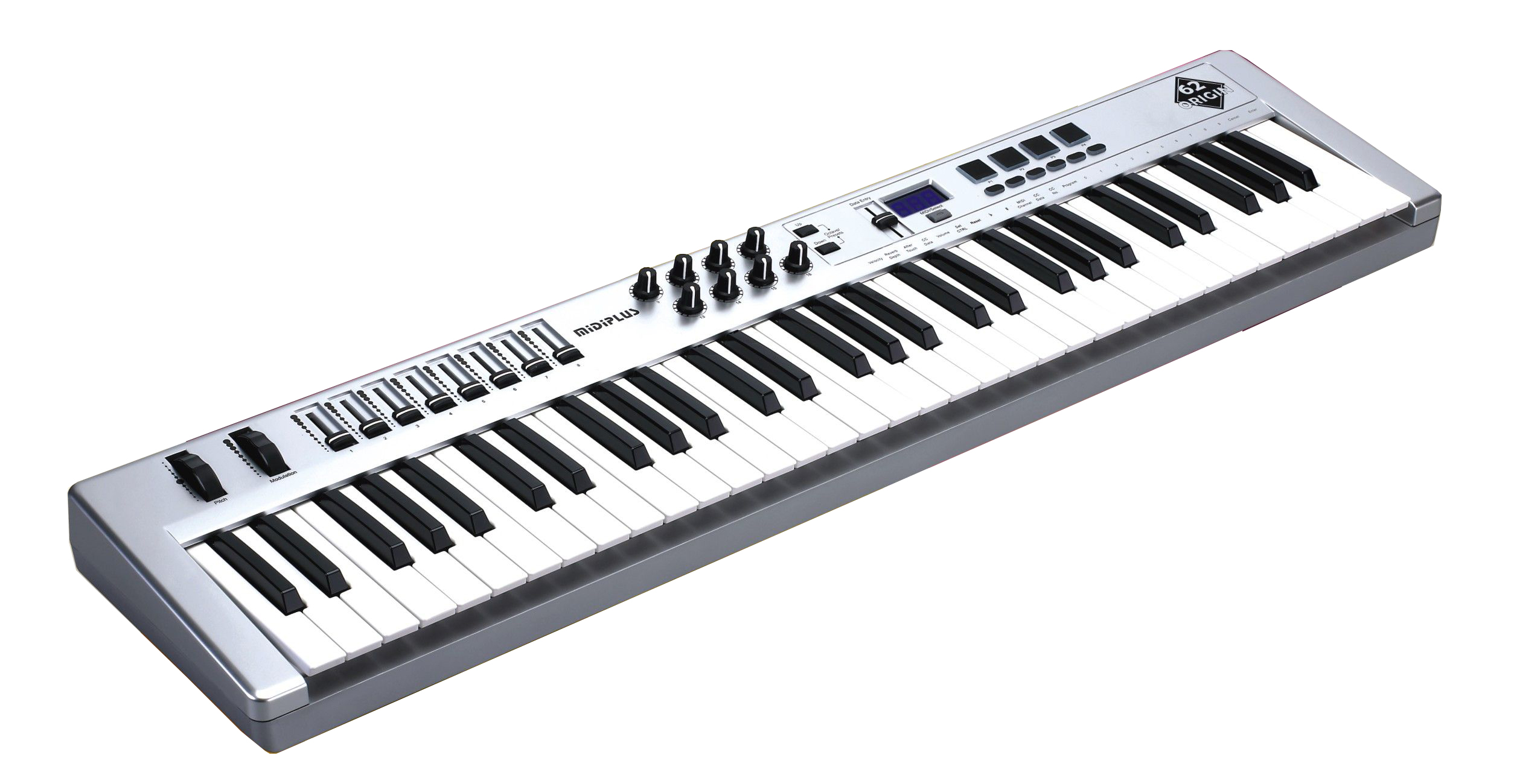 Image of   Midiplus Origin62 USB-midi-keyboard