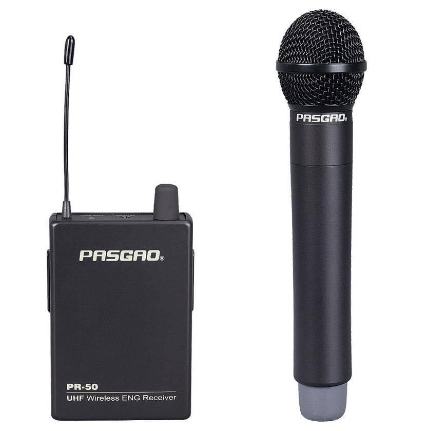 Pasgao PR-50R-PAH315 trådløsthåndholdtmikrofon-sæt