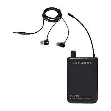 Pasgao PV-60R lommemodtagermedhøretelefon