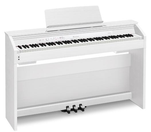 Billede af Casio PX-860WE el-klaver hvid
