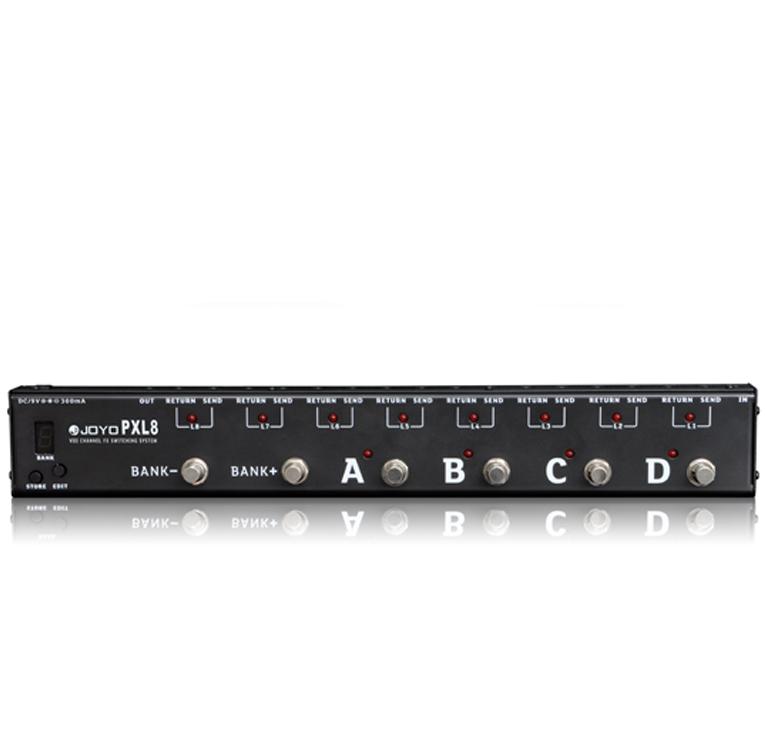 Joyo PXL8 loop-pedal-router