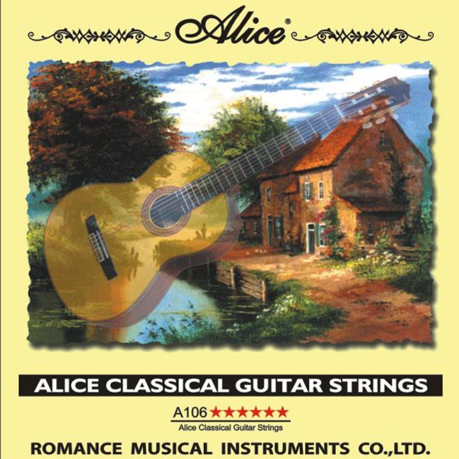 Billede af Alice A106 spanskguitar-strenge