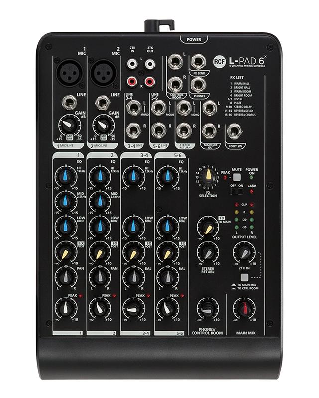 Billede af RCF Livepad6X mixer