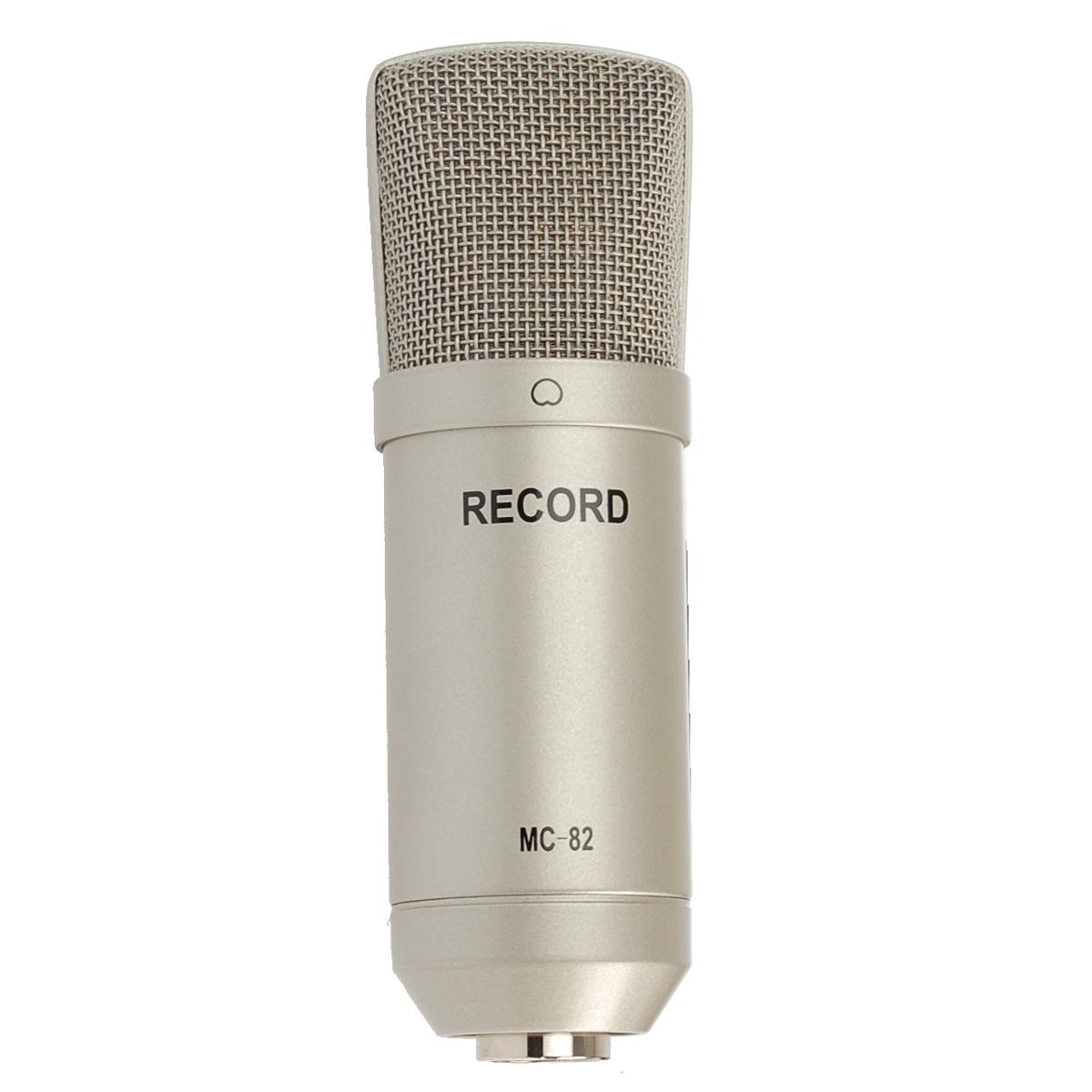 Billede af Record MC-82 kondensator-mikrofon