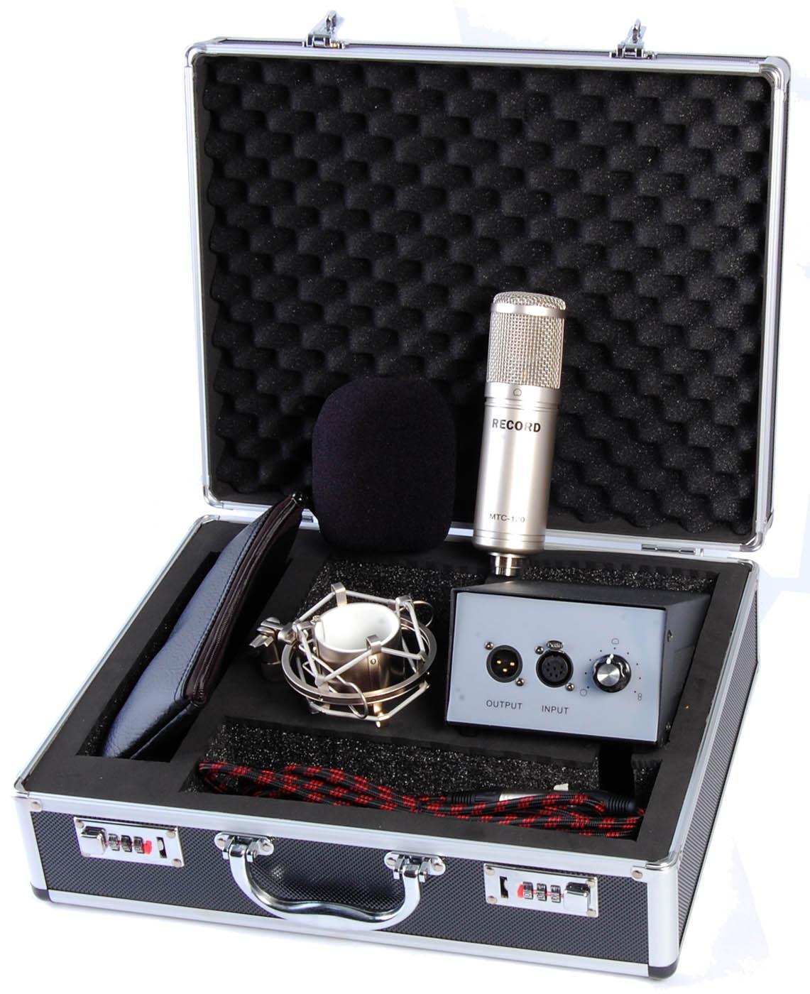 Billede af Record MTC-120 rør-kondensator-mikrofon