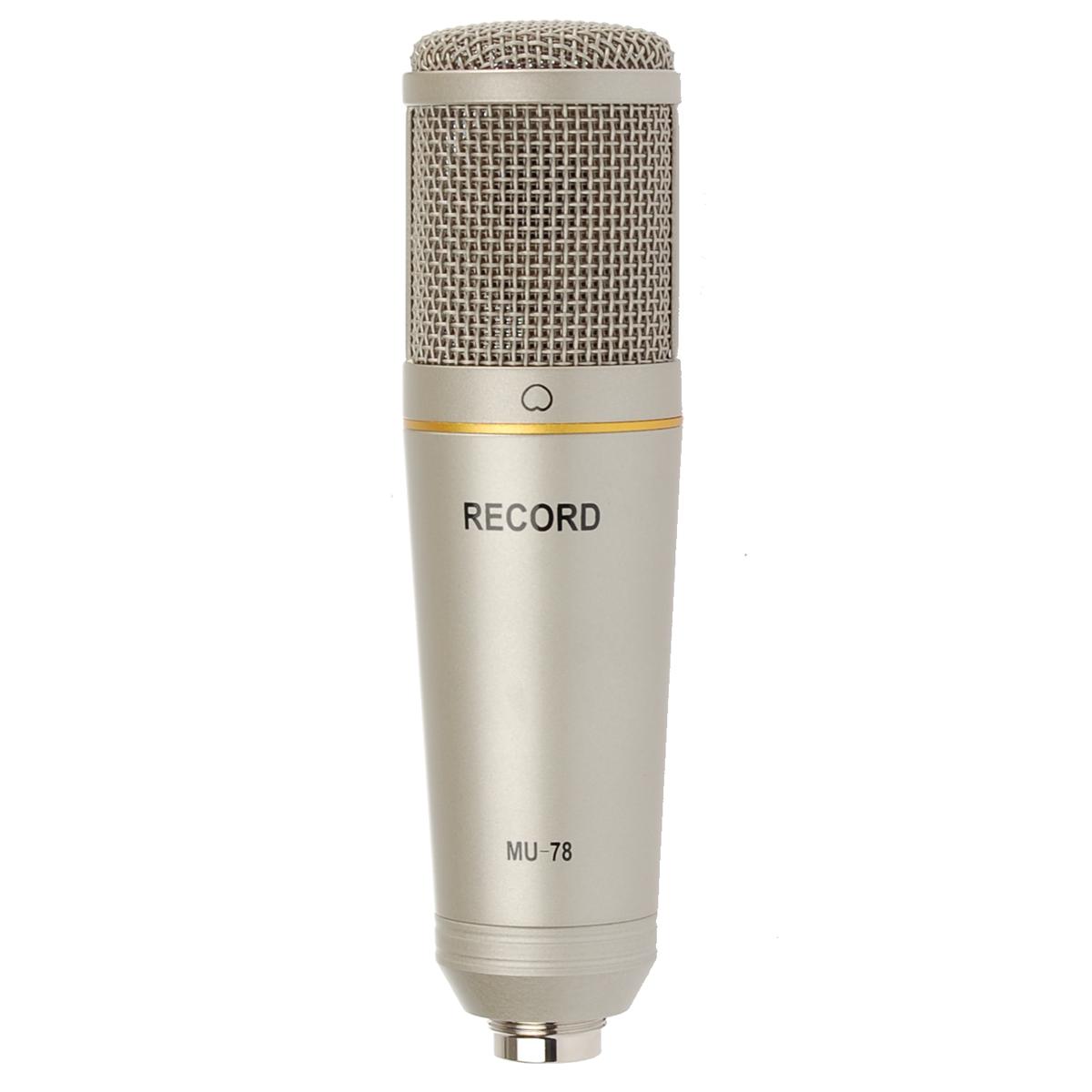 Billede af Record MU-78 USBkondensator-mikrofon