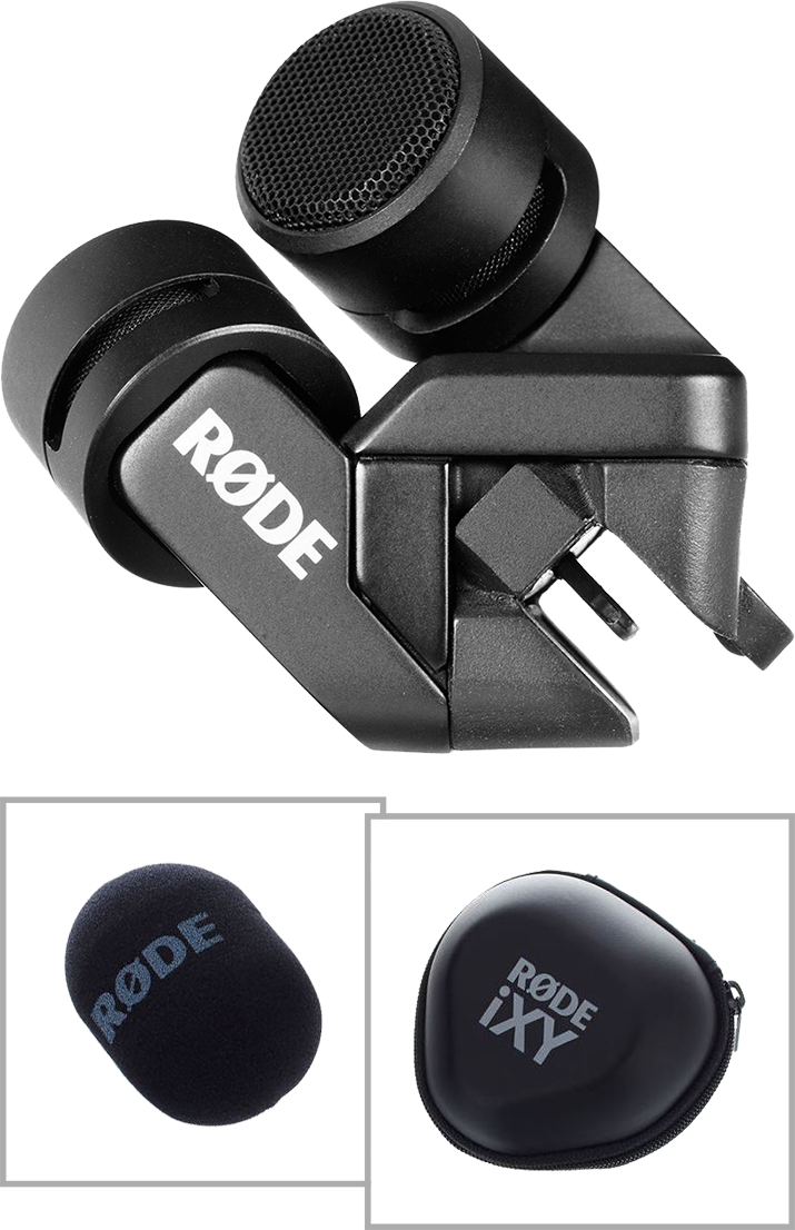 Billede af Røde iXYLightning stereokondensator-mikrofontiliPad&iPhone