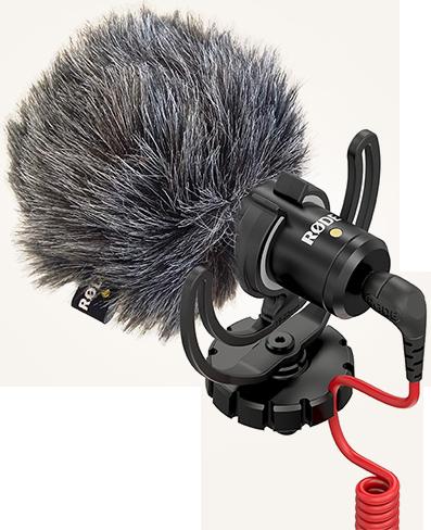 Billede af Røde VideoMicro kamera-mikrofon sort
