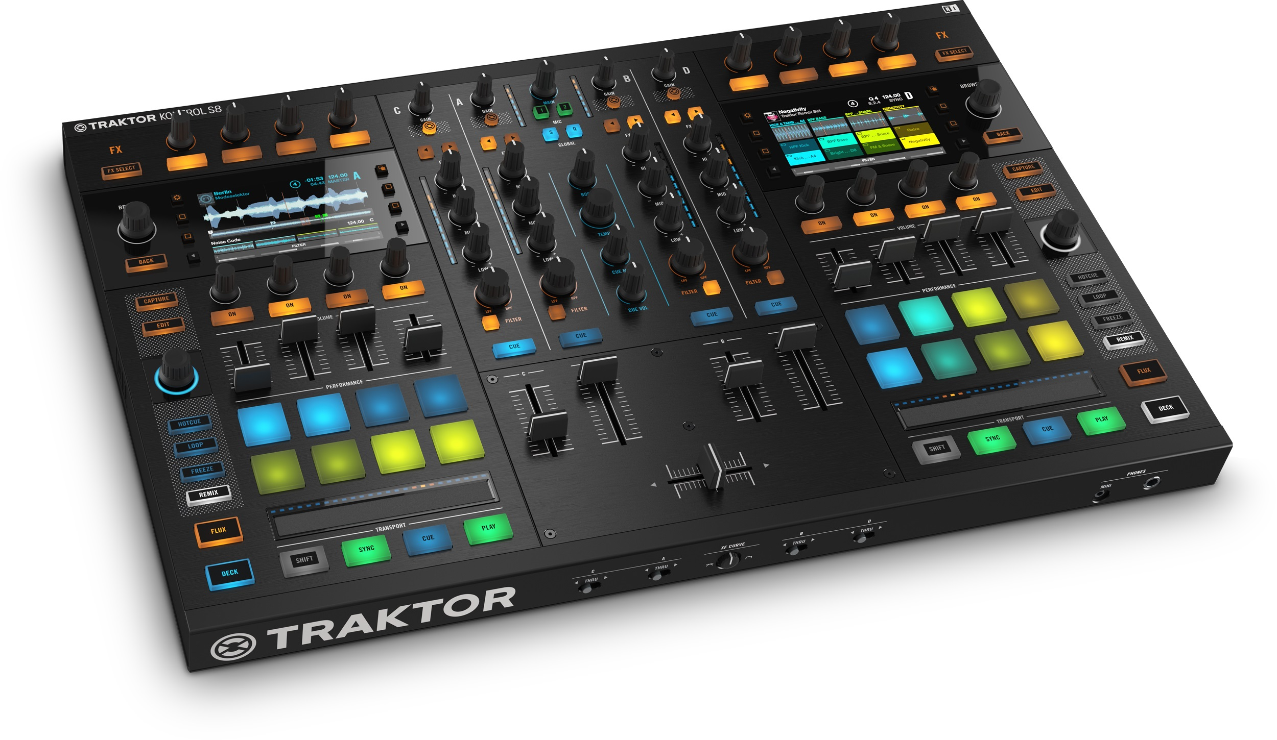 NativeInstruments TraktorKontrolS8