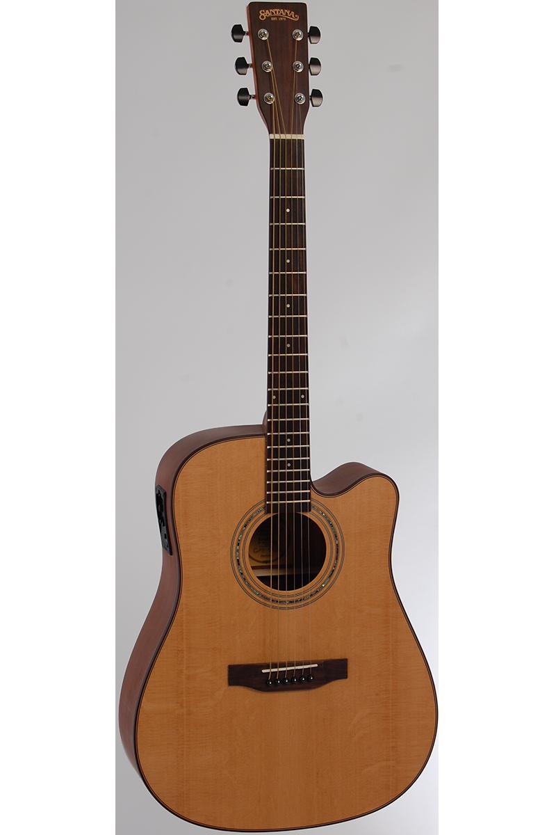 Image of   Santana ST-200CWPRESYS western-guitar natur