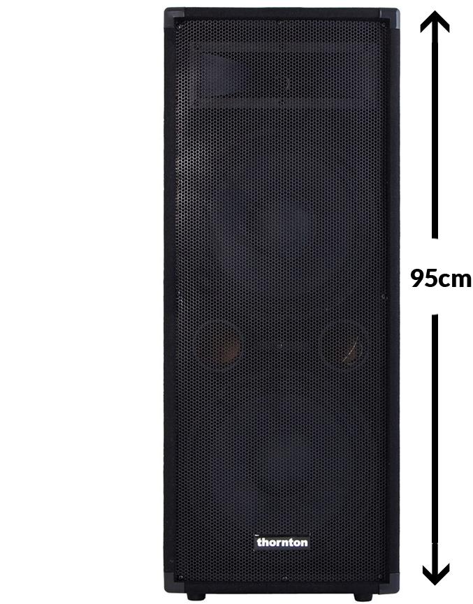 Billede af Thornton SE212 højtaler sort
