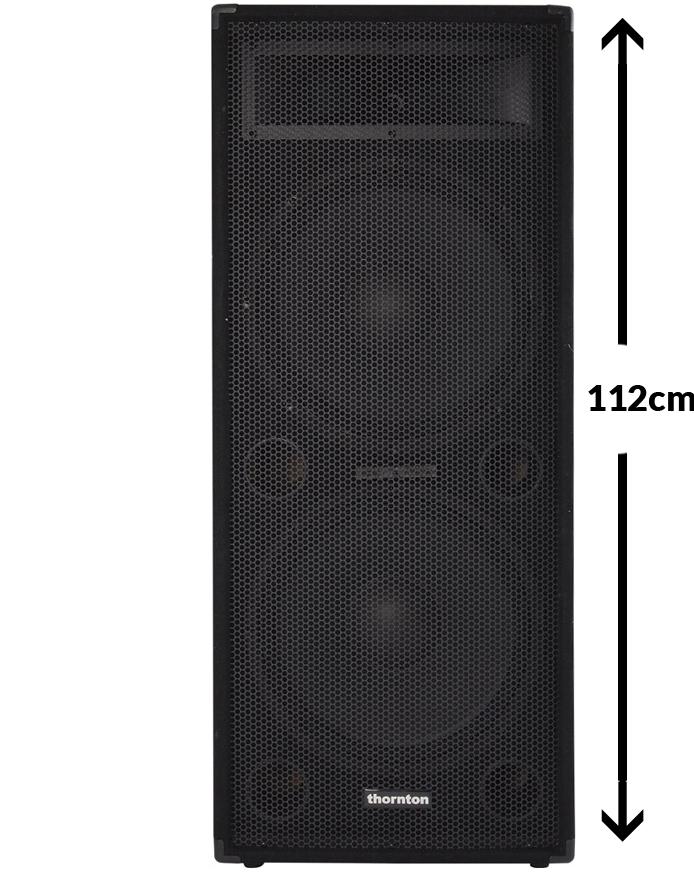 Billede af Thornton SE215 højtaler sort