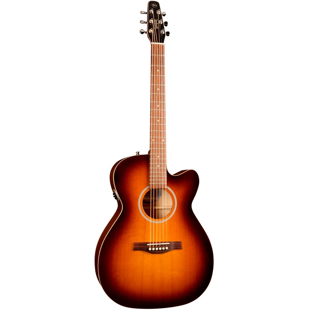 Seagull EntourageRusticCWConcertHallQIT western-guitar rusticburst