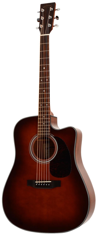 Billede af Sigma DMC-1STE-BR western-guitar brun burst