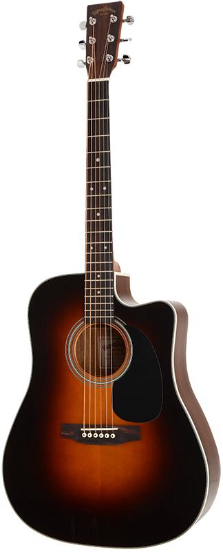 Billede af Sigma DRC-1STE-SB western-guitar sunburst