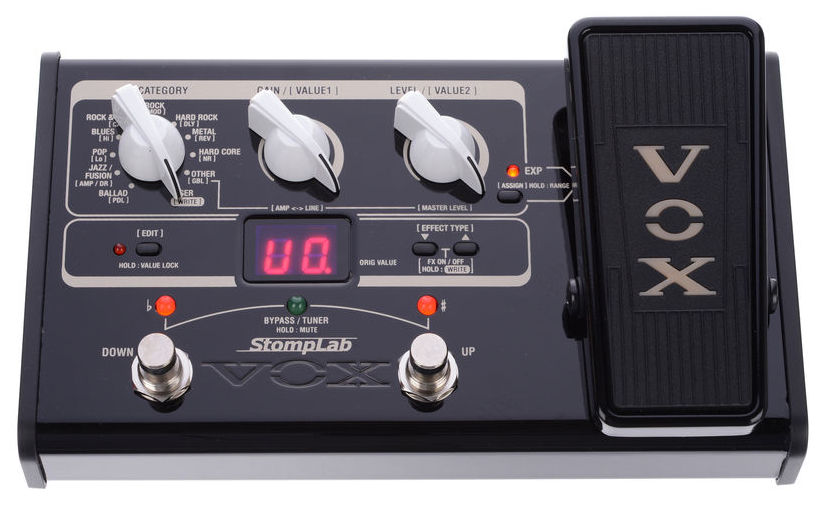 Billede af Vox StomplabIIG(2G) guitar-multieffekt-pedal