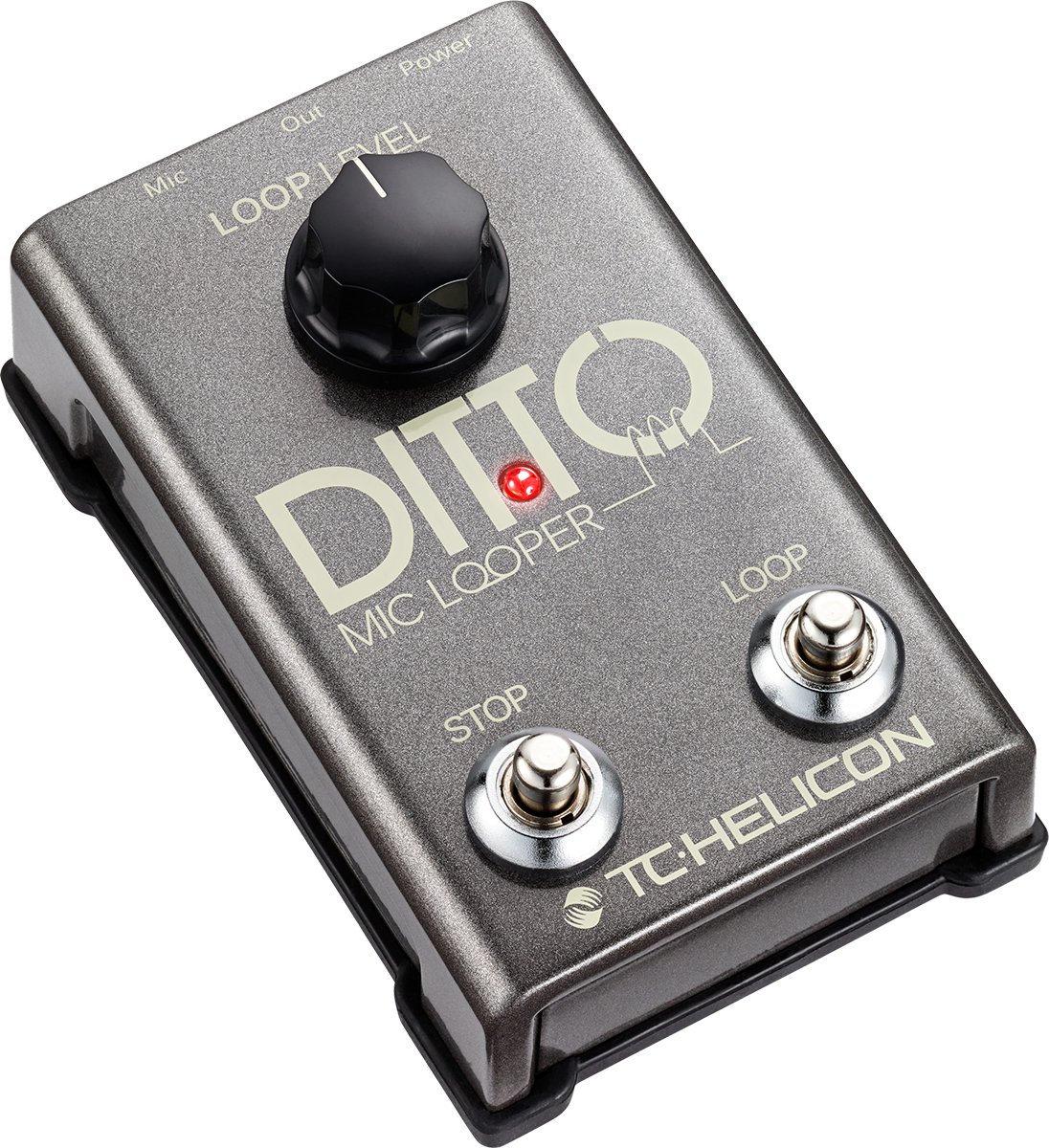 TCHelicon DittoMicLooper vocal-loop-pedal