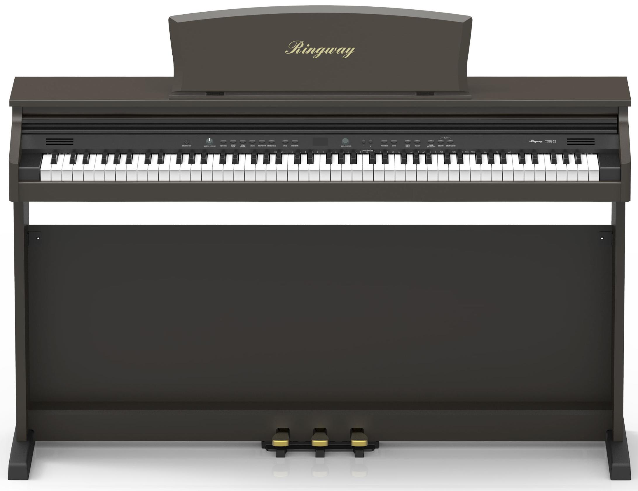 Image of   Ringway TG8852 rosewood el-klaver palisander