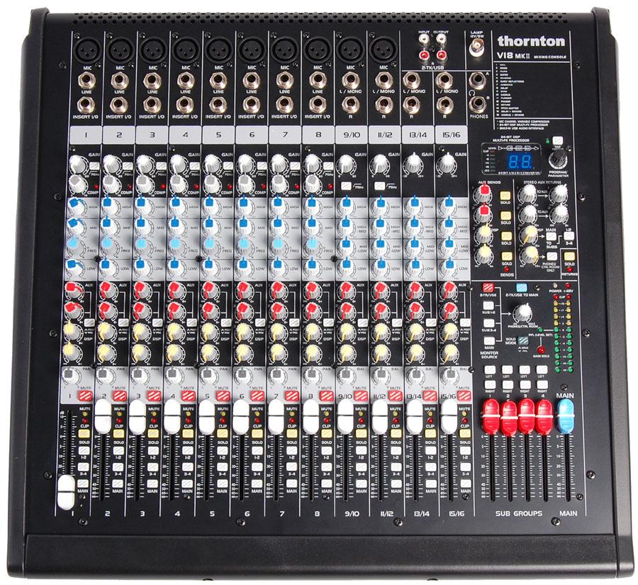 Billede af Thornton V18MK2 mixer