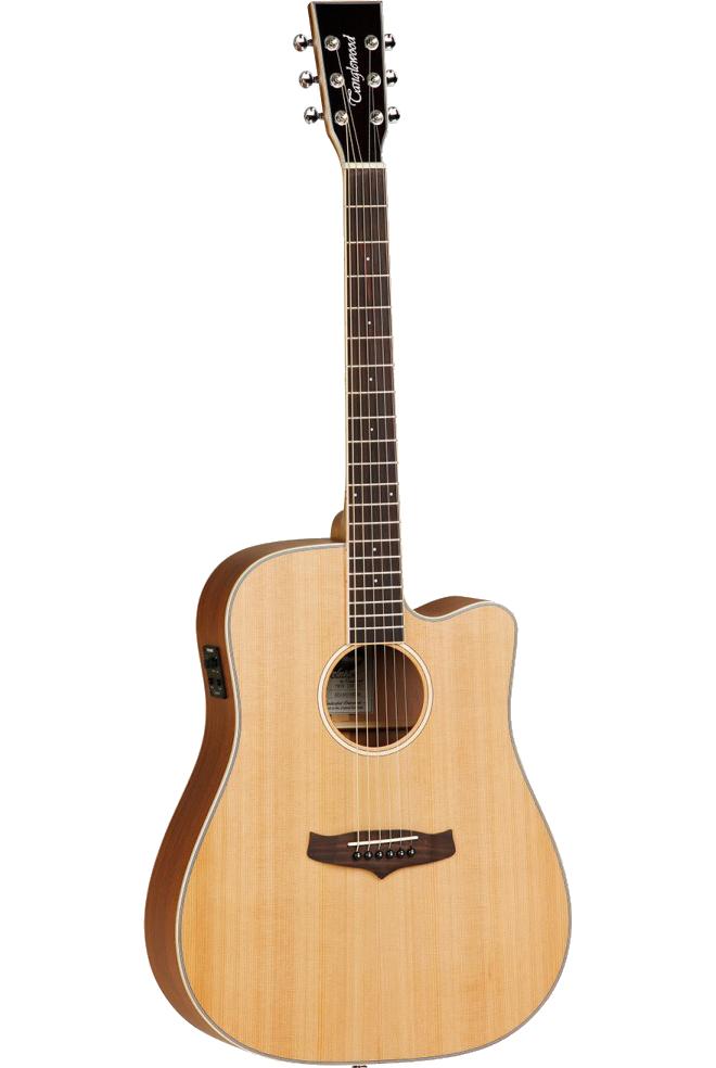 Tanglewood TW28CSNCEEvolution-IV western-guitar natur