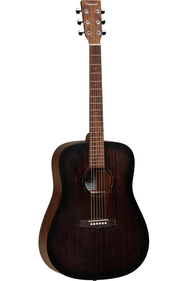 Tanglewood TWCRDECrossroads western-guitar darkbrown