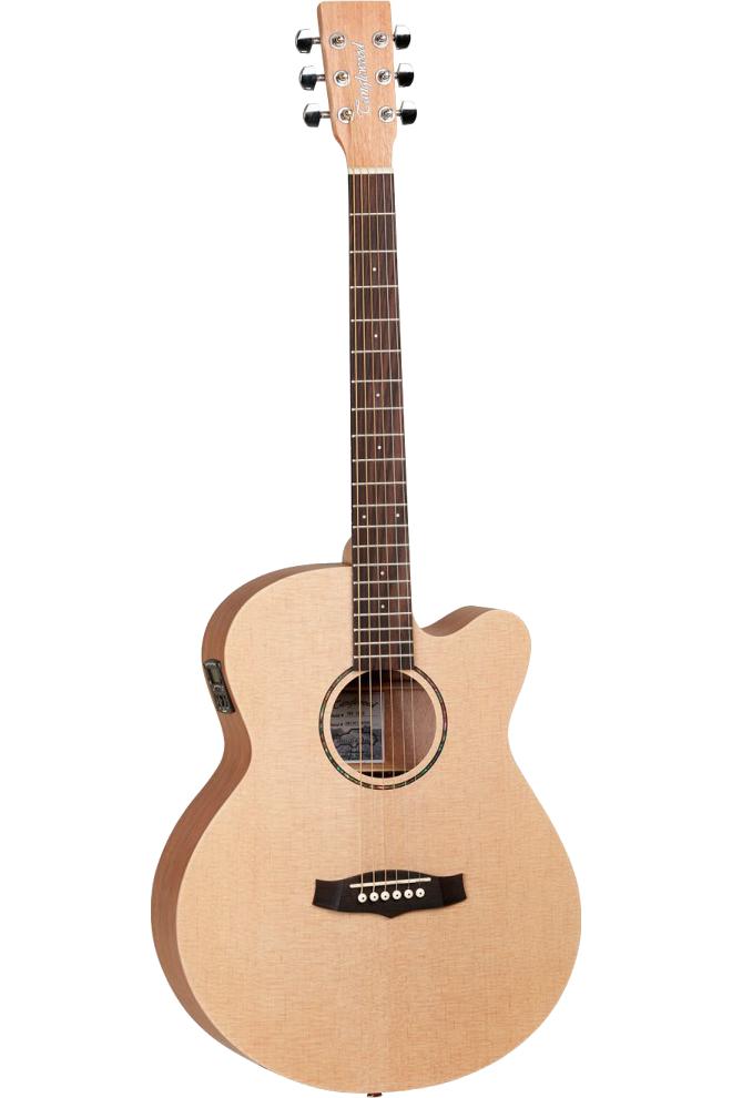 Tanglewood TWRSFCERoadster western-guitar natur