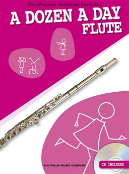 Image of   ADozenADay-Flute lærebog