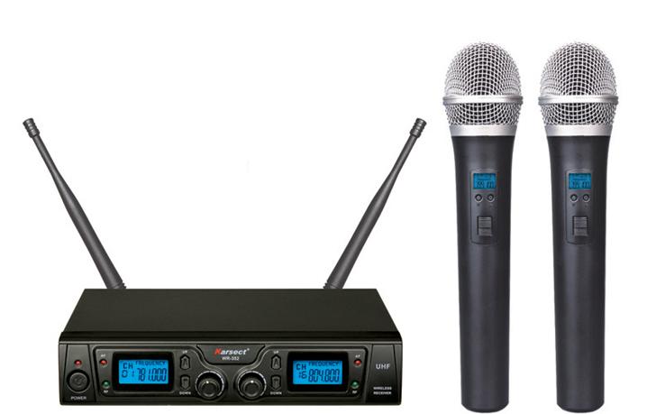Billede af Karsect WR-352HT35 trådløst2xhåndholdtmikrofon-sæt