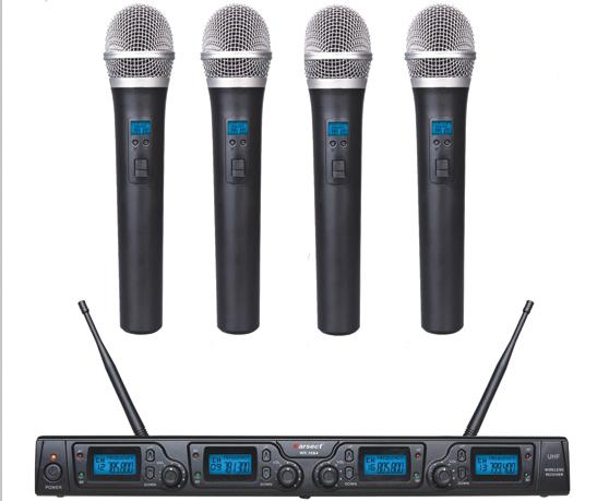 Billede af Karsect WR-354HT35 trådløst4xhåndholdtmikrofon-sæt