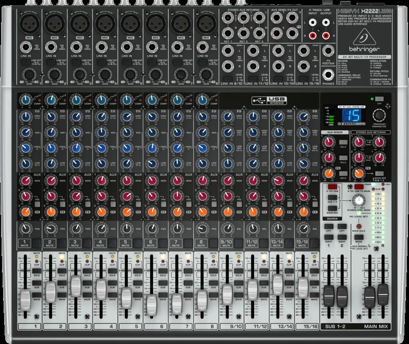 Billede af Behringer XenyxX2222USB mixer