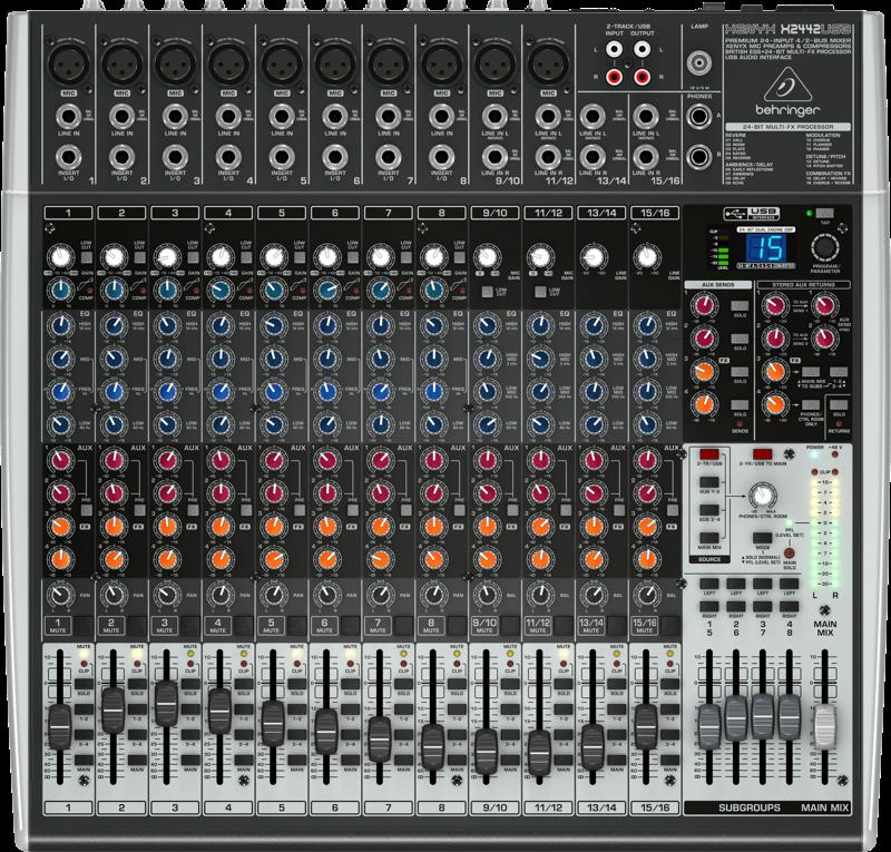Billede af Behringer XenyxX2442USB mixer