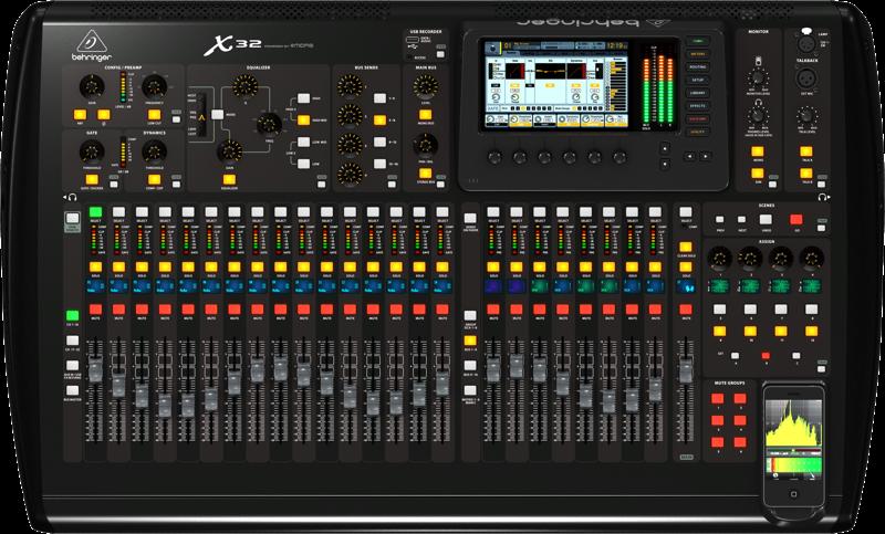 Image of   Behringer X32 mixer