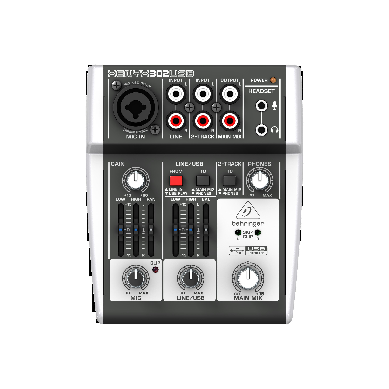 Image of   Behringer Xenyx302USB mixer
