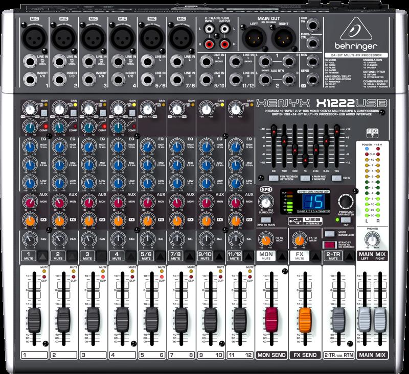 Image of   Behringer XenyxX1222USB mixer